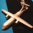 Sparta Pewter jet aircraft keychain aviation keyring unknown t-tail airplane type handcrafted Canada