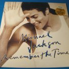 "Michael Jackson 1991 Remember the Time Black or White Silky Soul 12"" Epic 33 1/3 vinyl record LP"