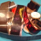 Snakes Rats Flies 6 rolls Filmstrip 35mm school educational celluloid projector film 50s 60s movies
