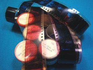 Water Rain 7 rolls Filmstrip 35mm school educational celluloid projector film 50s 60s 35 mm movie