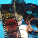 Magnet Atomic Energy 3 roll Filmstrip 35mm school education celluloid projector film 50s 35 mm movie