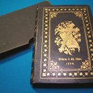 Dr. Martin Luther Kleiner Catechism German 1895 Lutheran religious Bible leather book