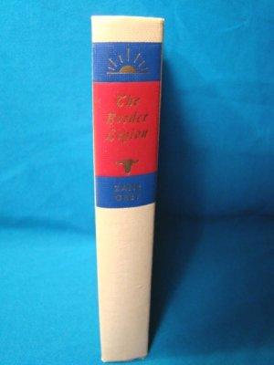 Zane Grey the Border Legion book Walter J. Black western fiction novel