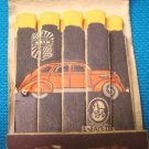 Nash LaFayette matchbook car cover feature lithograph Lion match book automobile 1937 Hutchinson Ks.