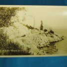 RPPC Marine Drive North Shore Vancouver B.C. Canada real photo postcard Gowen Sutton sepia 1917