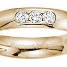 Benchmark - 6mm Tri Diamond Comfort Band Reg $1034
