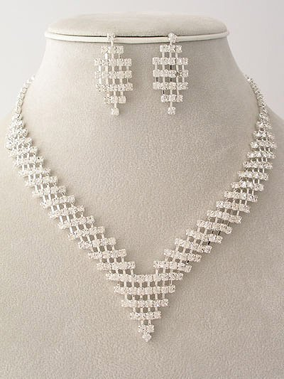 Spectacular Waterfall Style Necklace/Earring Set $49.99