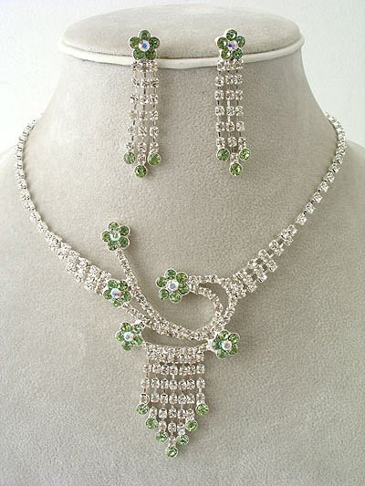 """Elegance"" Necklace/Earring Set Reg $49.99"