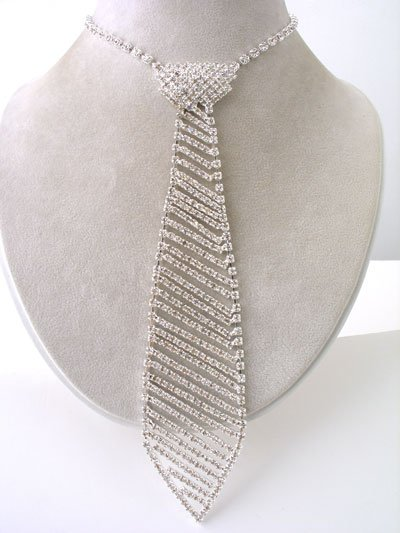 Winter Formal Guys - Very Popular Rhinestone Necktie Reg $69.99