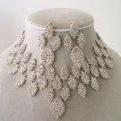 """The Queen"" Designer replica Necklace/Earring Set Reg $139.99"