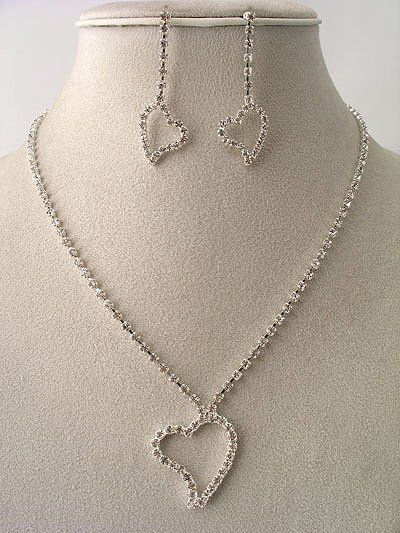 Pure Simple Love Necklace/Earring Set Reg $39.99