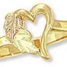 Black Hills Gold Ring - Heart Reg $159