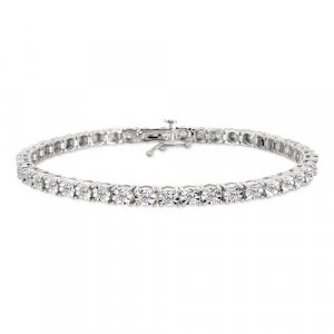 1 Carat Diamond White Gold Bracelet Reg $899