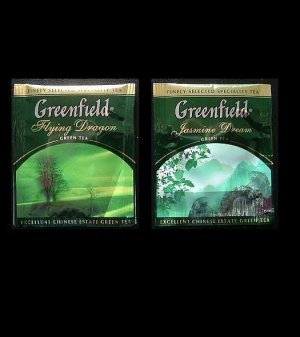 GREENFIELD TEA FLYING DRAGON AND JASMINE DREAM GREEN TEA
