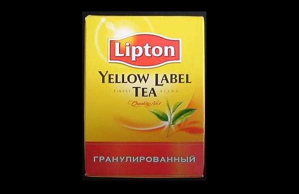 LIPTON YELLOW LABEL TEA FROM RUSSIA AND UKRAINE