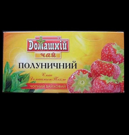 DOMASHNIY STRAWBERRY FRUIT TEA FROM UKRAINE