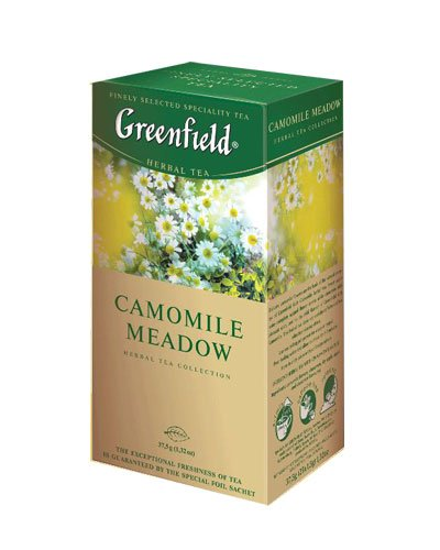 GREENFIELD TEA CAMOMILE MEADOW HERBAL TEA