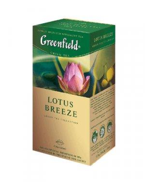 GREENFIELD TEA LOTUS BREEZE GREEN TEA