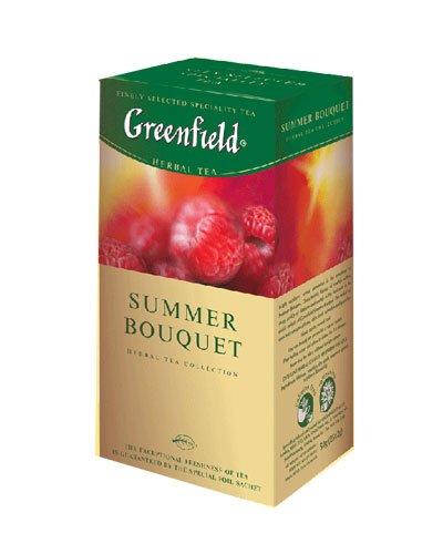 GREENFIELD TEA SUMMER BOUQUET HERBAL TEA