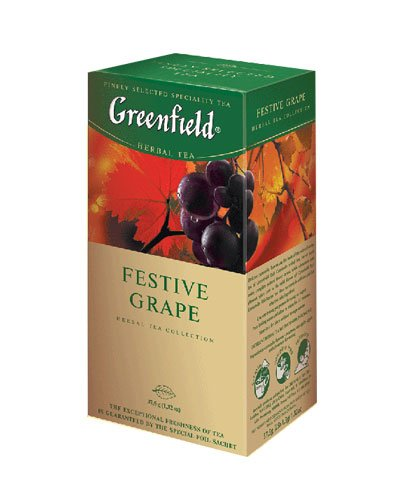 GREENFIELD TEA FESTIVE GRAPE HERBAL TEA