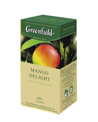 GREENFIELD TEA MANGO DELIGHT WHITE TEA