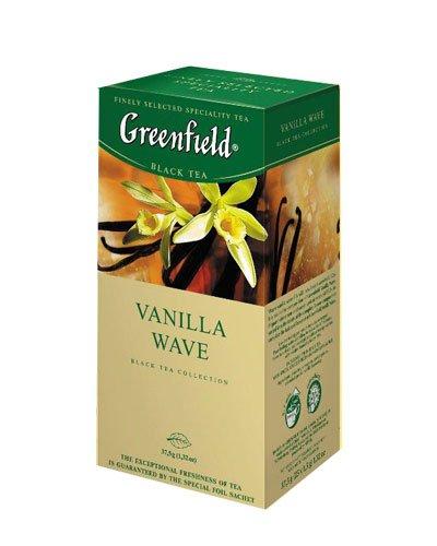 GREENFIELD TEA VANILA WAVE BLACK TEA