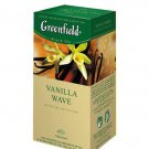 GREENFIELD TEA VANILA WAVE BLACK TEA