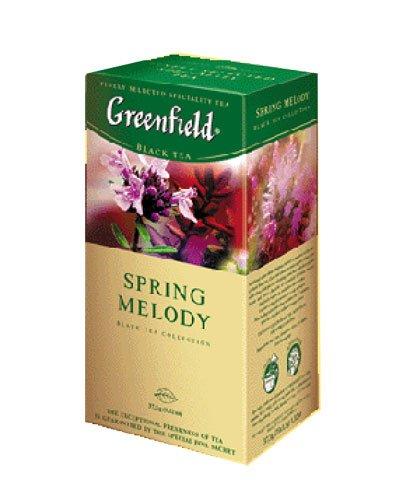 GREENFIELD TEA SPRING MELODY BLACK TEA