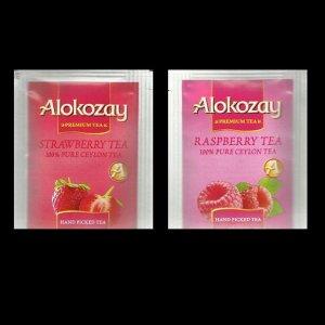 DUBAI ALOKOZAY RASPBERRY TEA AND STRAWBERRY FRUIT TEA