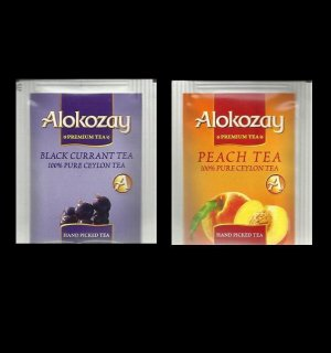 DUBAI ALOKOZAY BLACK CURRANT TEA AND PEACH FRUIT TEA