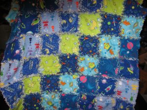 Space Rag Quilt