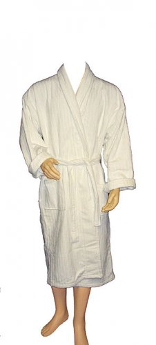 Stripes Terry Velour Bathrobe