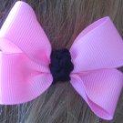 Pink toddler bow