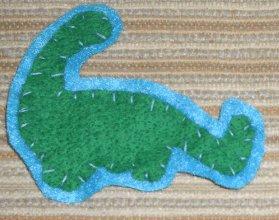 Dinosaur Pin 1