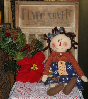 """Holly"" Raggedy Ann Doll"