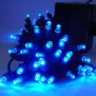 Christmas light---Solar Powered String Light 60 LED---BLUE