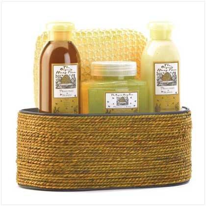 #38058 Pralines and Honey Bath Set