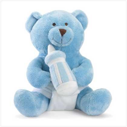 #37105 It's a Boy Message Bear