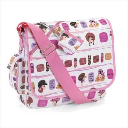 #37216 Saucy Secrets Messenger Bag