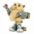 #37012 Back to School Owl Bobble Figurine