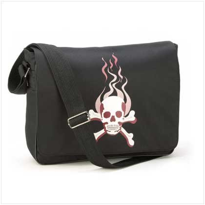 #37697 Skull Messenger Bag