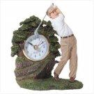 #31803 Golfer Statue Clock