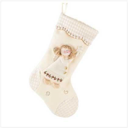 #37181 Plush Angel Stocking