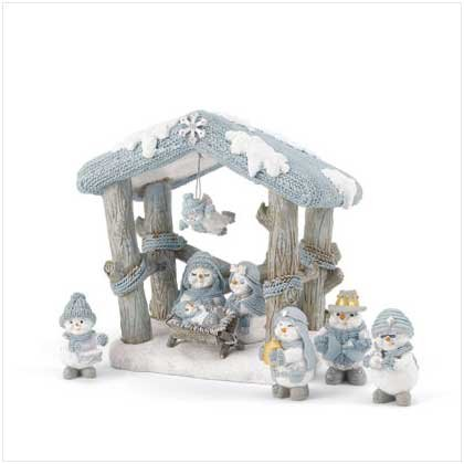 #37233 Snow Buddies Nativity Set