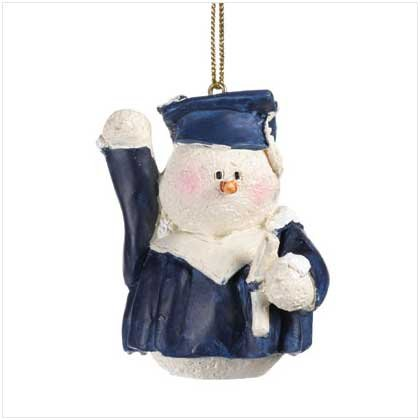 #37219 Snowberry Cuties Graduate Ornament