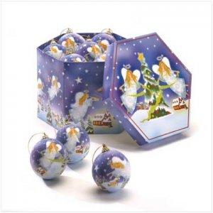 #37676 Christmas Angel Ball Ornaments