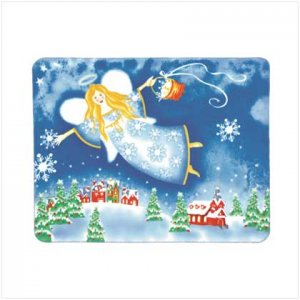 #37679 Christmas Angel Fleece Blanket