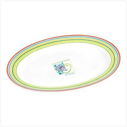 #38317 Serving Platter - Picasso Lines