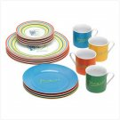 #38313 Dinner Set - Picasso Lines - 16 pc.