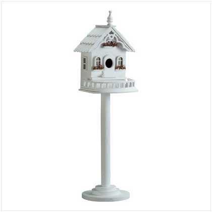#34320 Freestanding Victorian Birdhouse